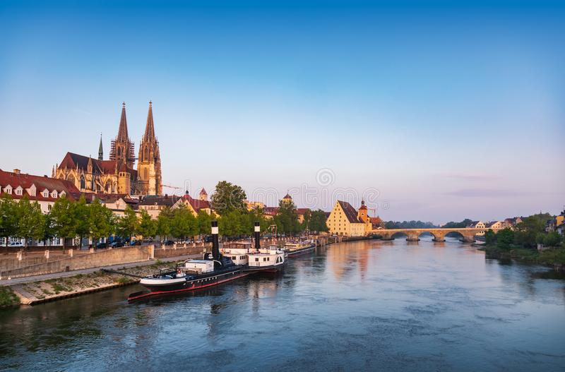 Fluss Bei Regensburg