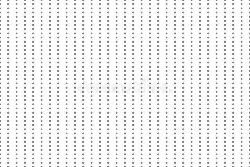 Minimalistic无缝的背景 背景充满圈子在相等的距离 多才多艺的几何纹理 皇族释放例证