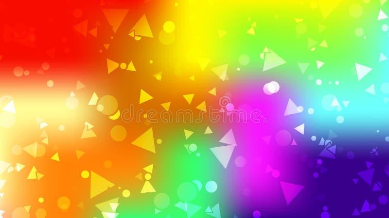 Contexto colorido Cartão de gradiente abstrato moderno Cartaz geométrico ilustração royalty free