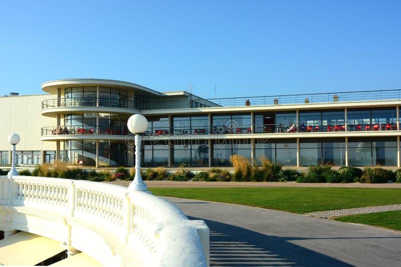 Art Deco exterior de la Warr Pavilion Bemoill, Sussex Reino Unido foto de stock