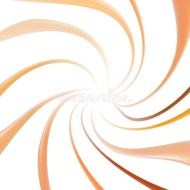 Vloeibare funderingselementen geïsoleerd Splashing beige-toonvoorbeeldpalet Crème-stroom Schoonheidsmake-upelementen voor mode royalty-vrije illustratie