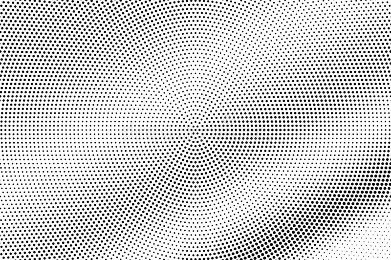 E r Ruwe dotworkoppervlakte Kleine gestippelde halftone vector illustratie
