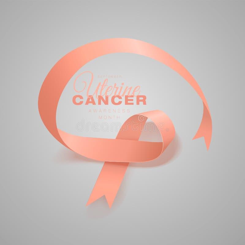E r Settembre ? mese di consapevolezza del Cancro illustrazione vettoriale