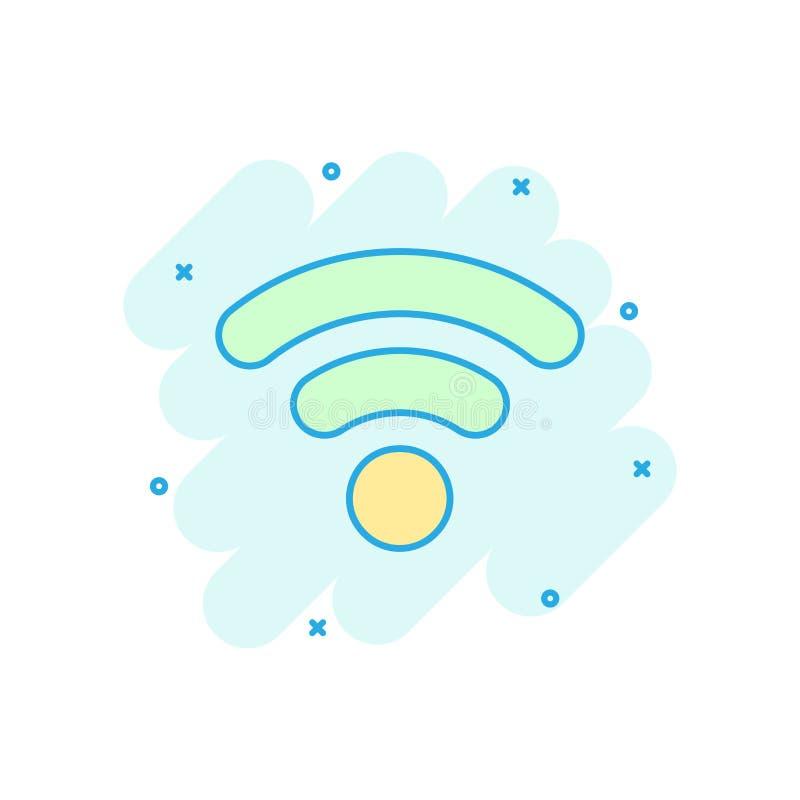 E r Sieci wifi biznesu pojęcie royalty ilustracja