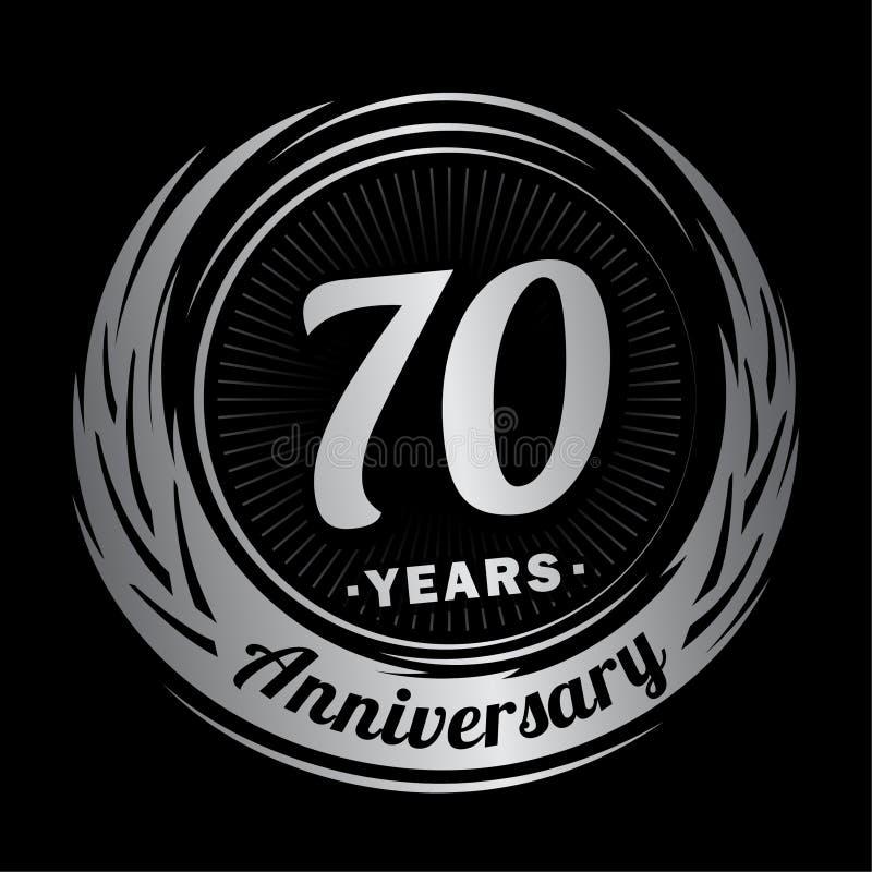 E r 70th logo stock illustrationer