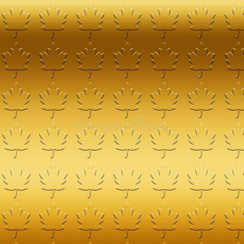 D'or rougissent le fond Illustration teintée par aluminium métallique R?tro texture d'or Fond chic à la mode Papier élégant de lu illustration libre de droits