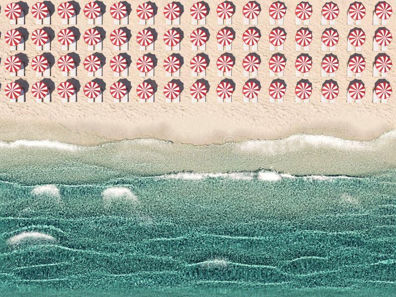 E rappresentazione 3d illustrazione di stock