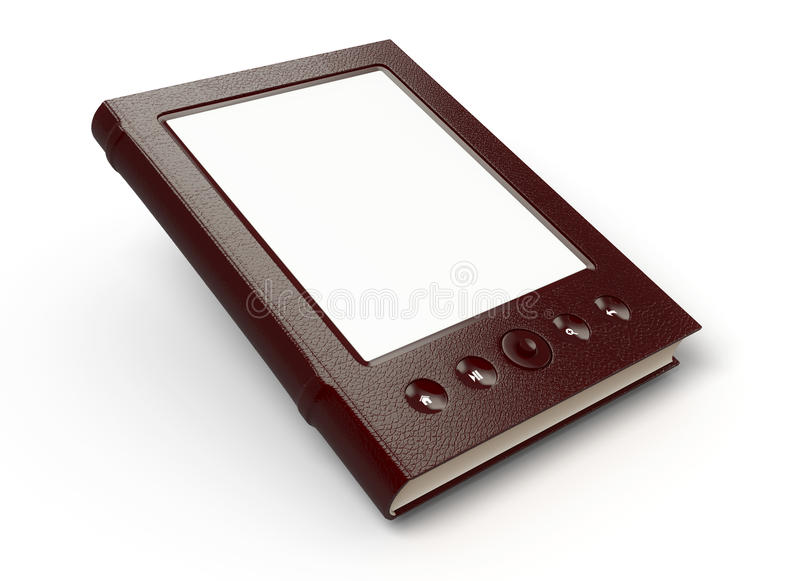 Download E-reader stock illustration. Image of dimensional, computer - 25892771