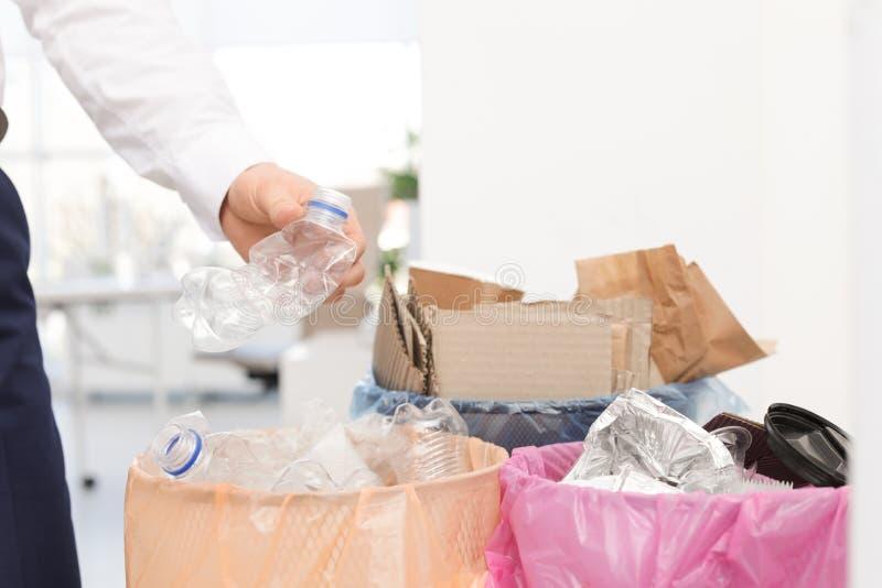 E Reciclagem de res?duos foto de stock royalty free