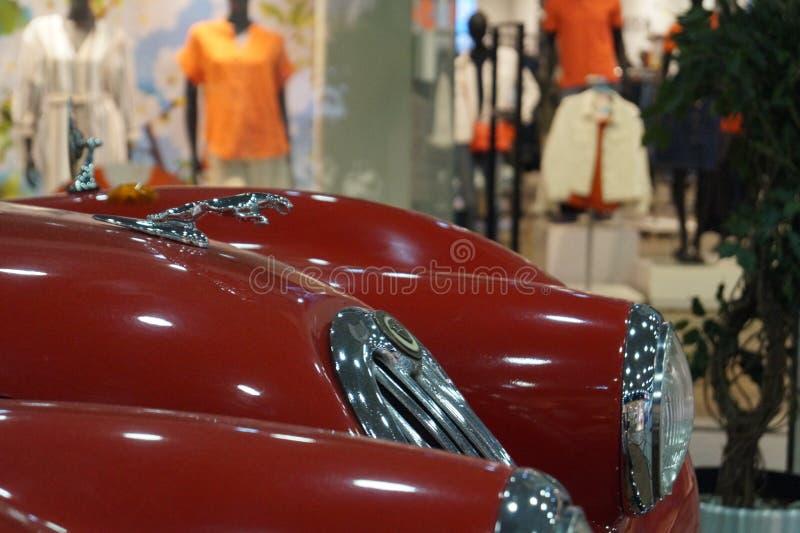 E Retro auto royalty-vrije stock foto