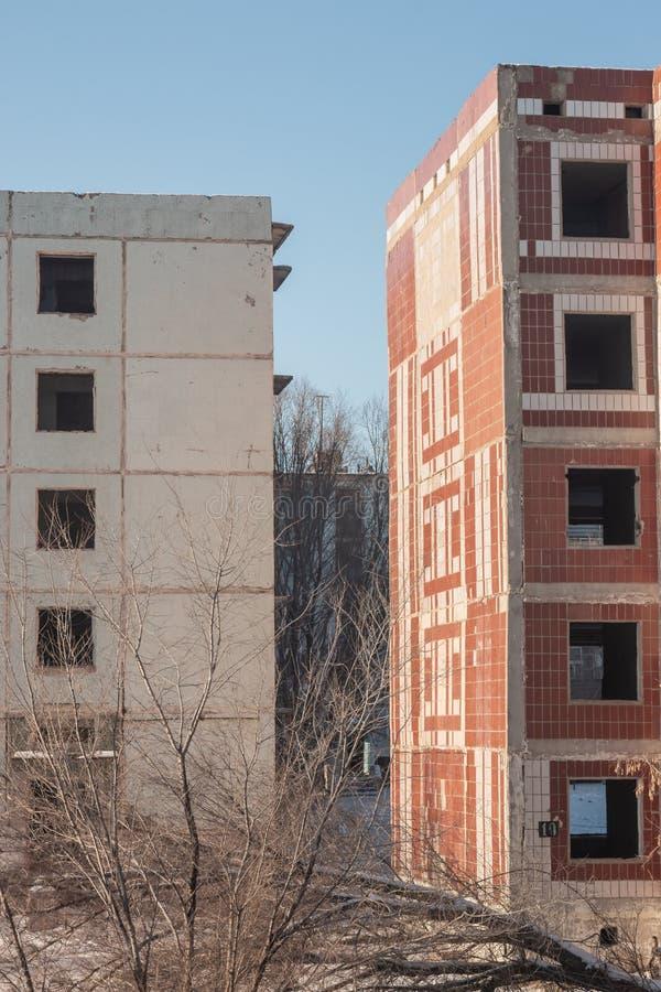 E ruines logement délabré photo libre de droits