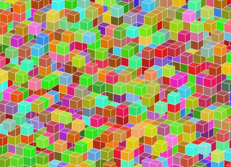 E Samenvatting architectur vector illustratie