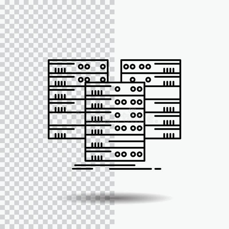 E Schwarze Ikonenvektorillustration vektor abbildung