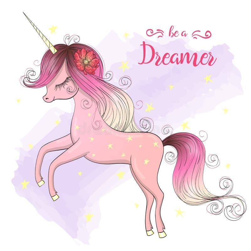 E Sea un soñador libre illustration