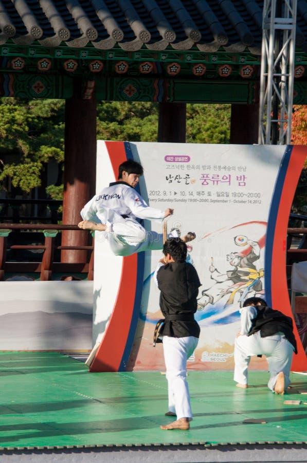E Seoul royaltyfri fotografi