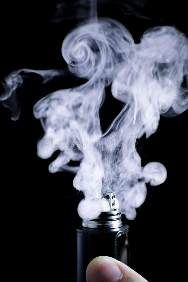 E-sigaret vape stock fotografie