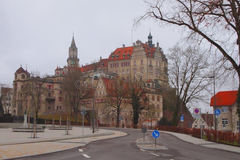 E Sigmaringen, Baden-Wurttemberg, Allemagne photos libres de droits