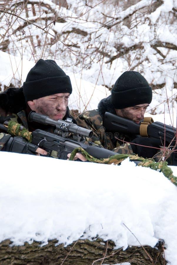 e-soldater royaltyfria bilder