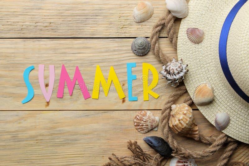 E Sommar semester Betr?ffande arkivfoton