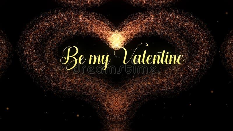 E Soyez mon amour de part de valentine photographie stock libre de droits