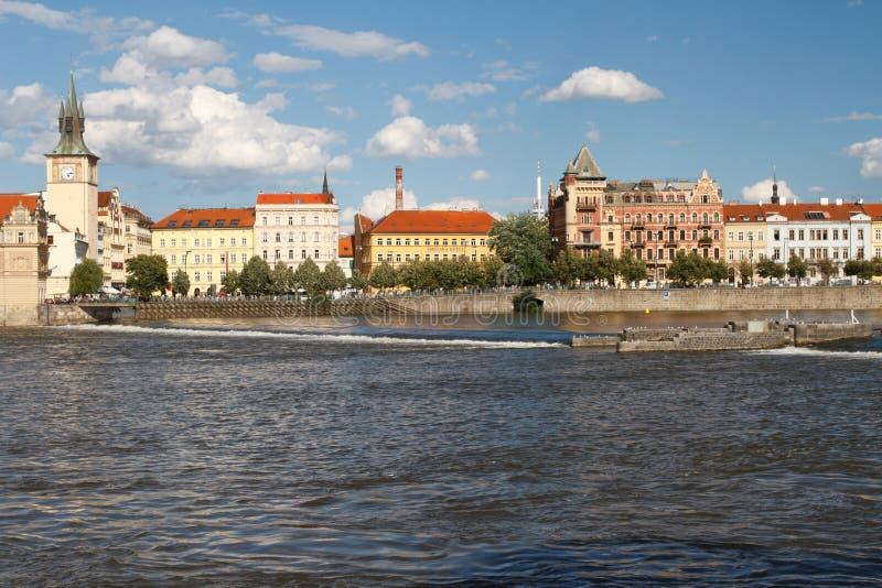 E stara basztowa miasta wody zdjęcia royalty free