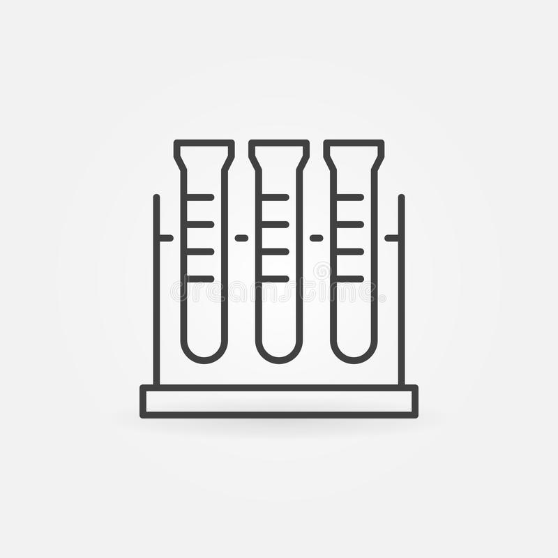 E Symbol f?r vektorkemibegrepp stock illustrationer