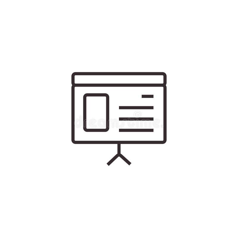 E Symbole de bureau image libre de droits