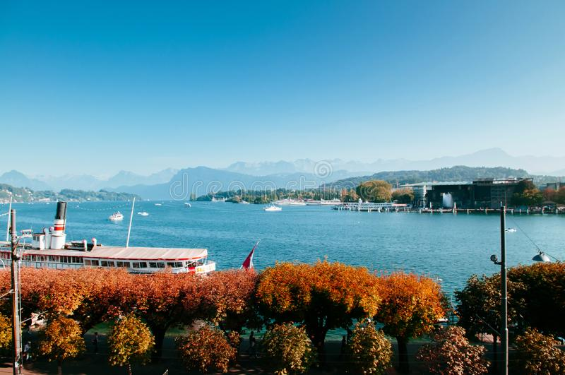 E Szwajcaria fotografia royalty free