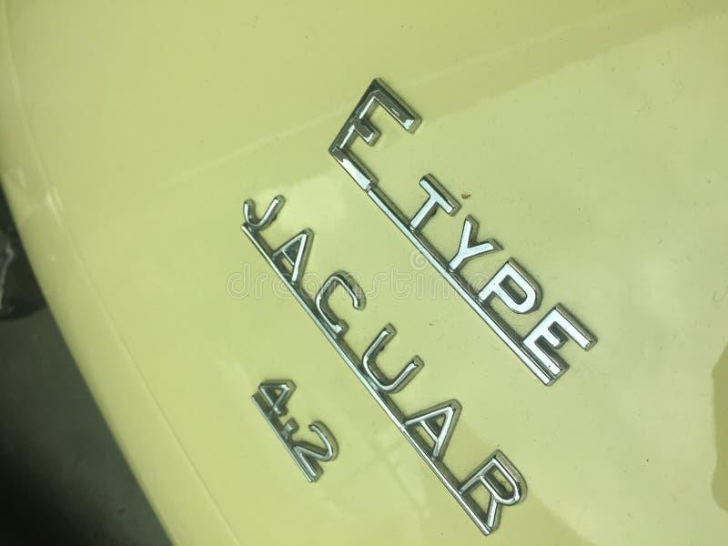 E-tipo 4 de Jaguar r imágenes de archivo libres de regalías