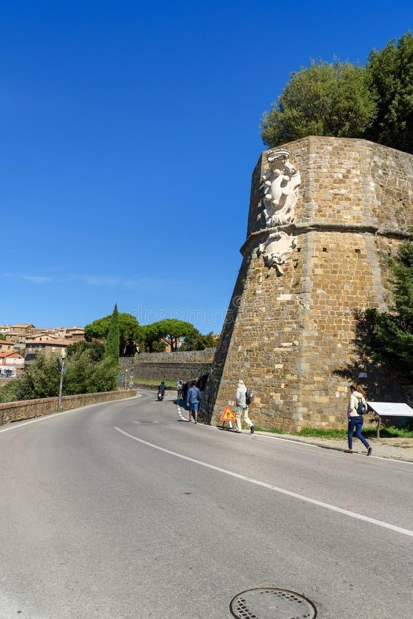E toscanië Italië stock fotografie