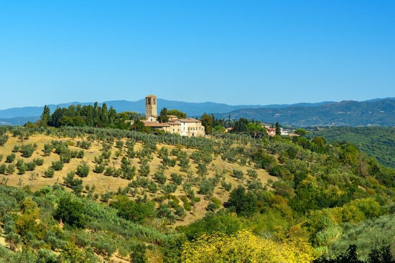 E tuscany l'Italie photo libre de droits