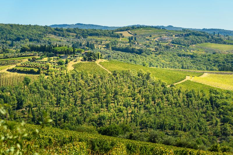 E tuscany l'Italie images stock