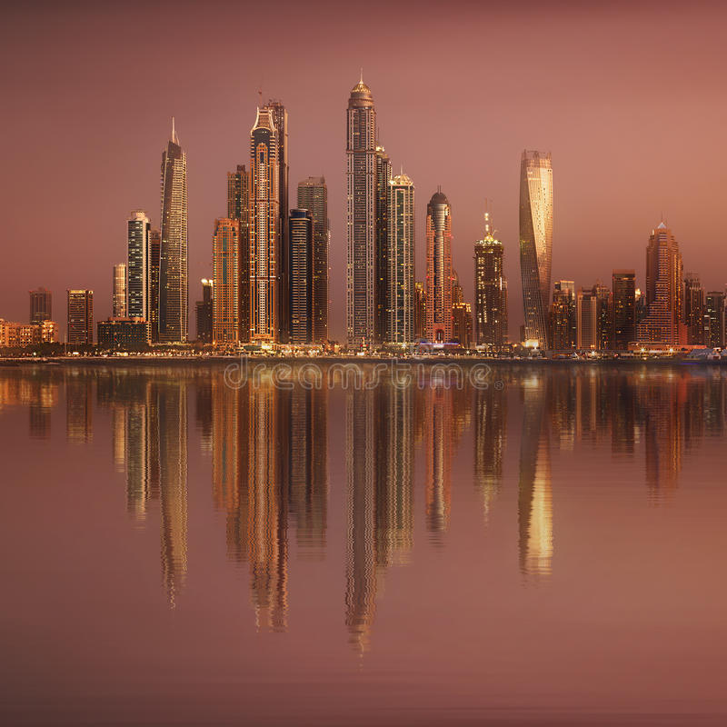 E UAE obraz stock