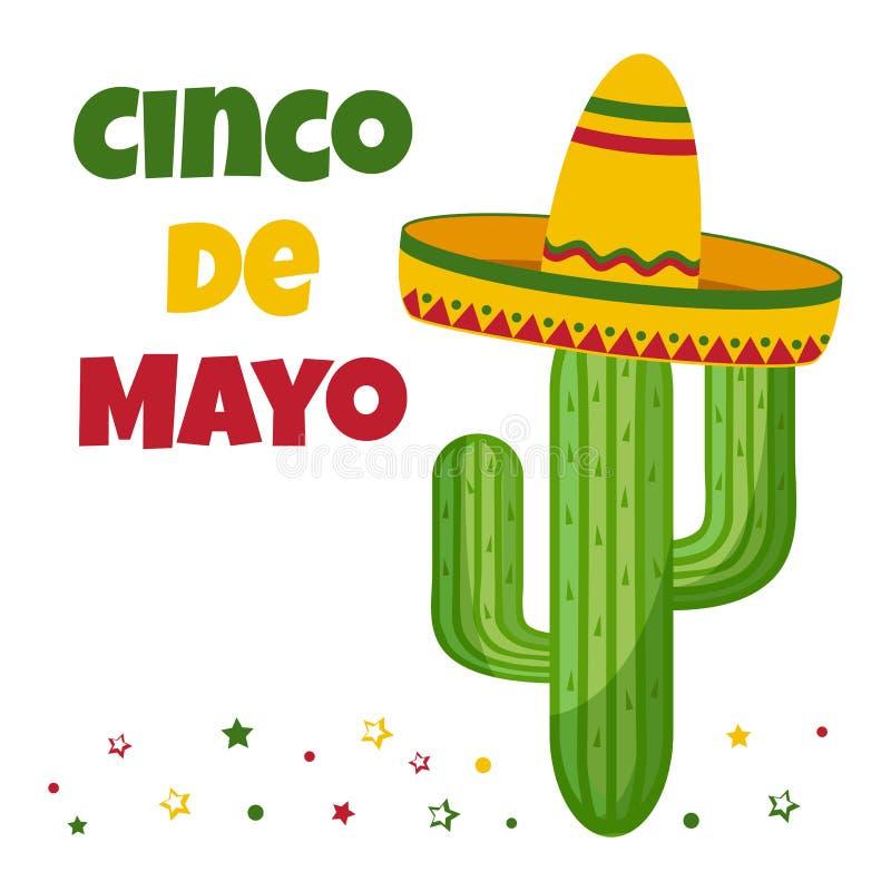 E Vakantie in Mexico Vector vector illustratie