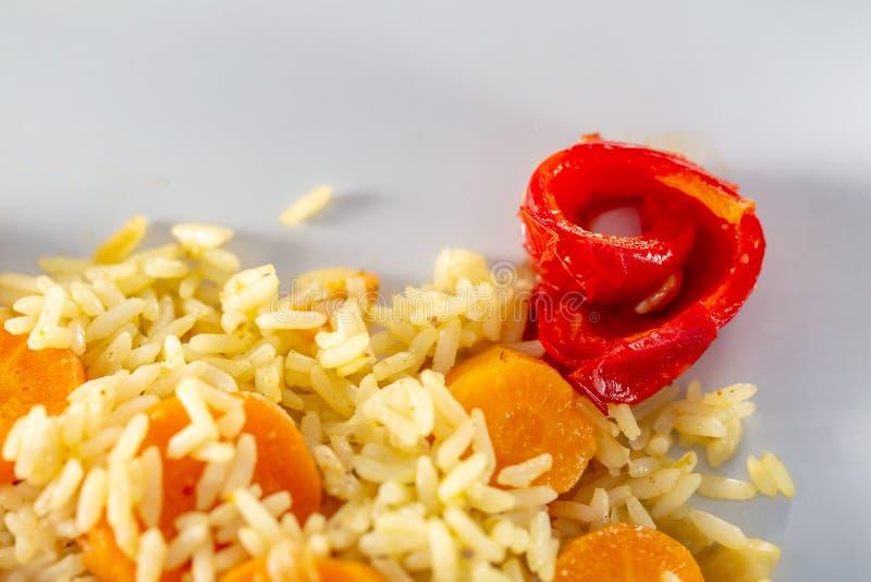 E Vegetarisch voedsel stock fotografie