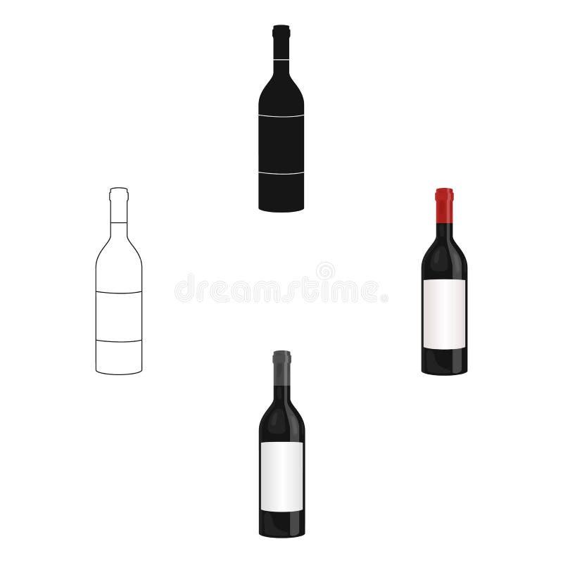 E Vektor f?r materiel f?r symbol f?r vinproduktion vektor illustrationer