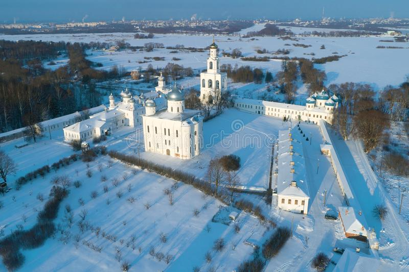 E Veliky Novgorod, Rusland stock afbeeldingen