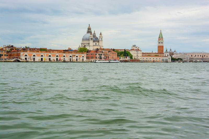 E Venedig, Italien stockfotos