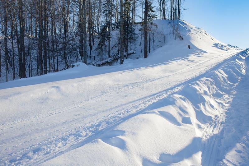 E Vinter rest arkivfoton