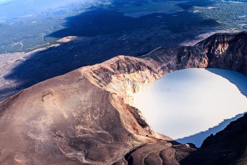 E Volcanoes Kamchatka fascynują obraz royalty free