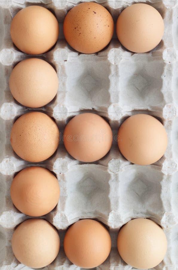 E voor Eieren stock afbeeldingen
