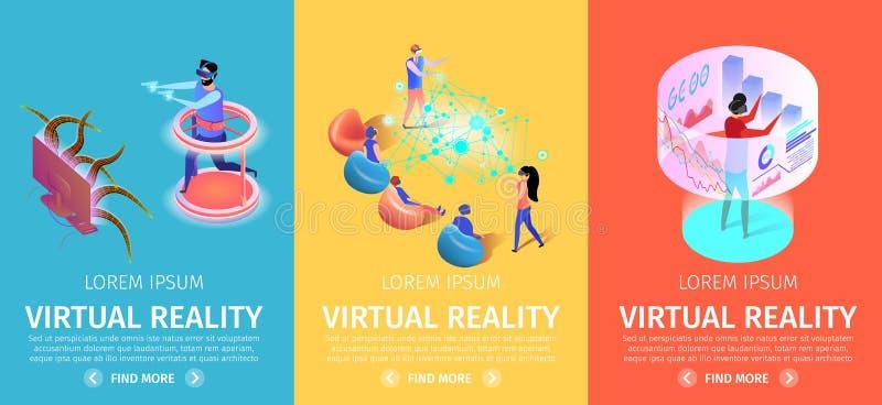 E VR?? 向量例证