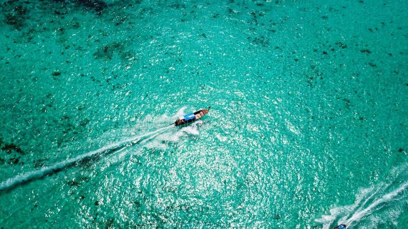 E Vue aérienne du bourdon photo libre de droits