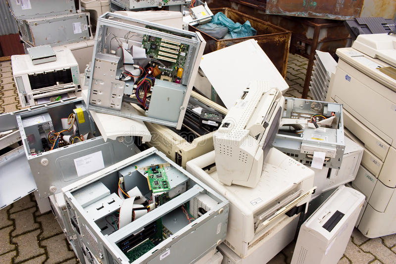 E-waste royalty free stock photography
