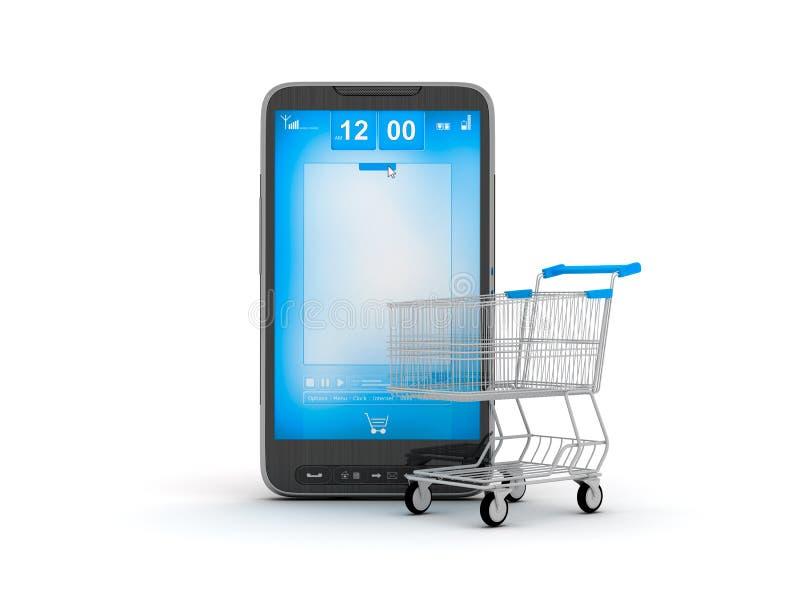 E-winkelt vector illustratie