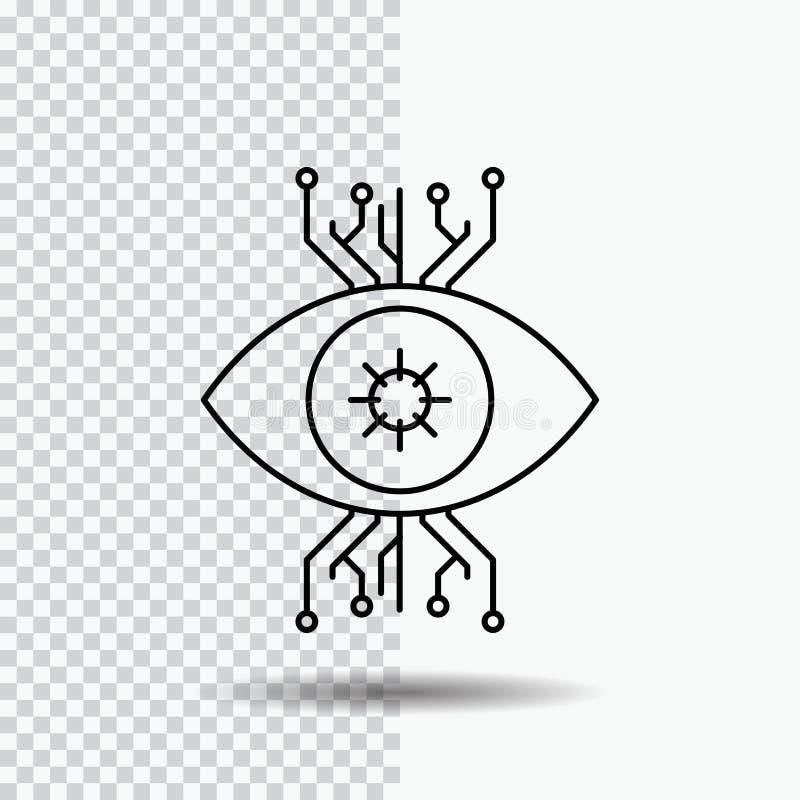 E Zwarte pictogram vectorillustratie royalty-vrije illustratie