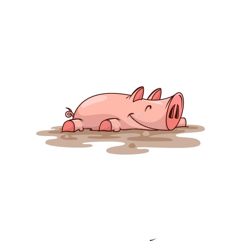 E 7 zwierzęcia kreskówki gospodarstwa rolnego ilustraci serii Domowa istota tła postać z kreskówki zuchwałych ślicznych psów szcz ilustracja wektor