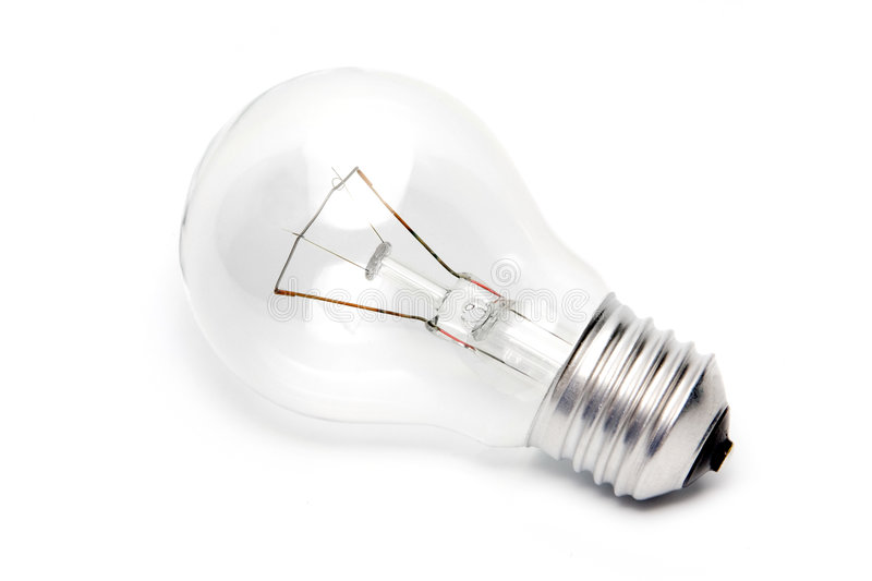 Download E27 light bulb stock image. Image of lamp, clear, light - 6994371