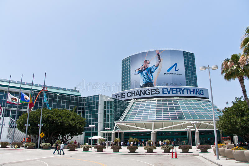Download E3 2010, PlayStation Move Sponsorship Of The Event Editorial Photography - Image of show, center: 14844802