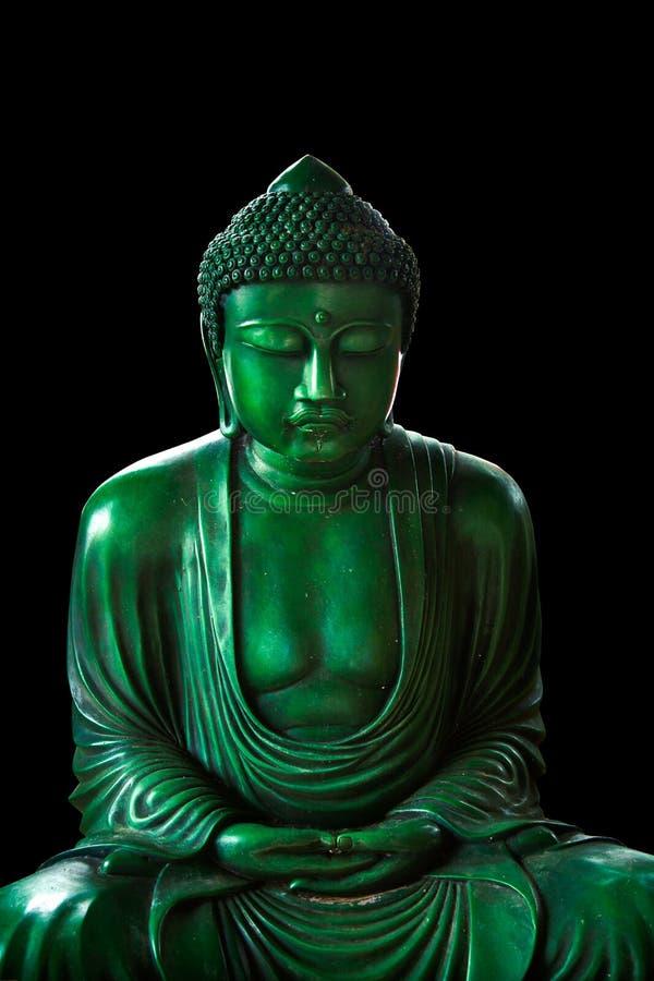 Eacful azjata Buddha zen Tao religii sztuki stylu statua obrazy royalty free